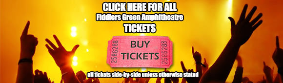 fiddlers green amphitheater concert tickets