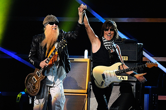 ZZ Top & Jeff Beck at Fiddlers Green Amphitheatre