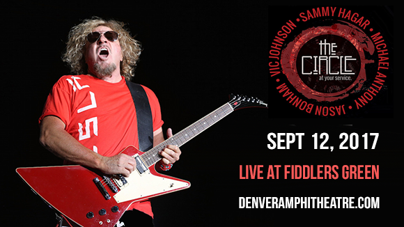 Sammy Hagar And The Circle at Fiddlers Green Amphitheatre