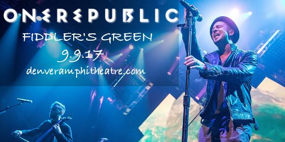 OneRepublic at Fiddlers Green Amphitheatre