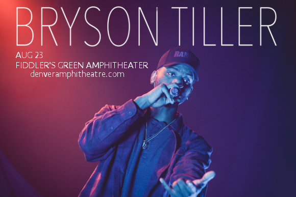 Bryson Tiller at Fiddlers Green Amphitheatre
