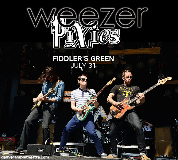 Weezer & Pixies at Fiddlers Green Amphitheatre