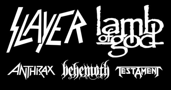 Slayer, Lamb of God & Anthrax at Fiddlers Green Amphitheatre