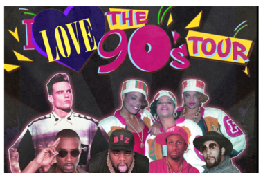 I Love The 90s: Salt N Pepa, Vanilla Ice, Montell Jordan, Biz Markie, Rob Base & DJ Kool at Fiddlers Green Amphitheatre