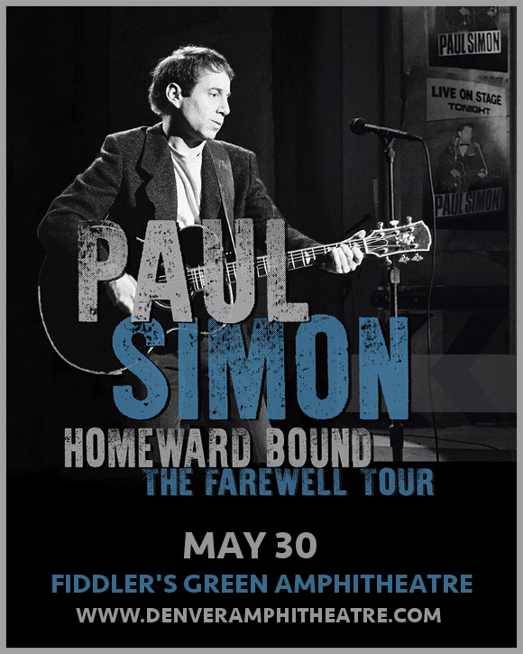 Paul Simon at Fiddlers Green Amphitheatre