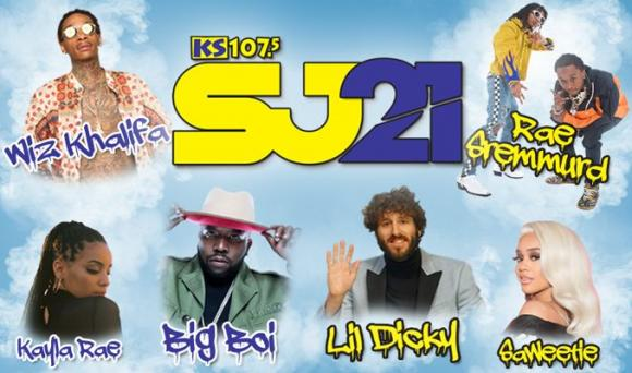 KS 107.5 Summer Jam 21: Wiz Khalifa, Rae Sremmurd & Lil Dicky at Fiddlers Green Amphitheatre