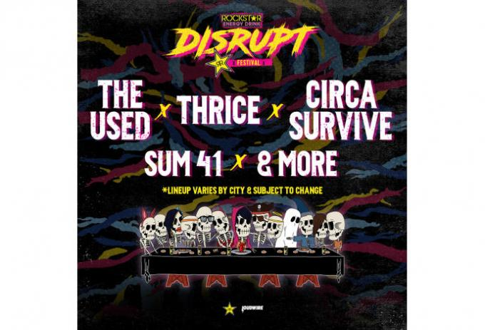 Disrupt Festival: The Used, Thrice, Circa Survive, Sum 41 & Atreyu at Fiddlers Green Amphitheatre