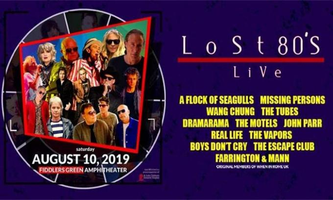 Lost 80's Live: A Flock of Seagulls, Missing Persons, Wang Chung & The Tubes at Fiddlers Green Amphitheatre