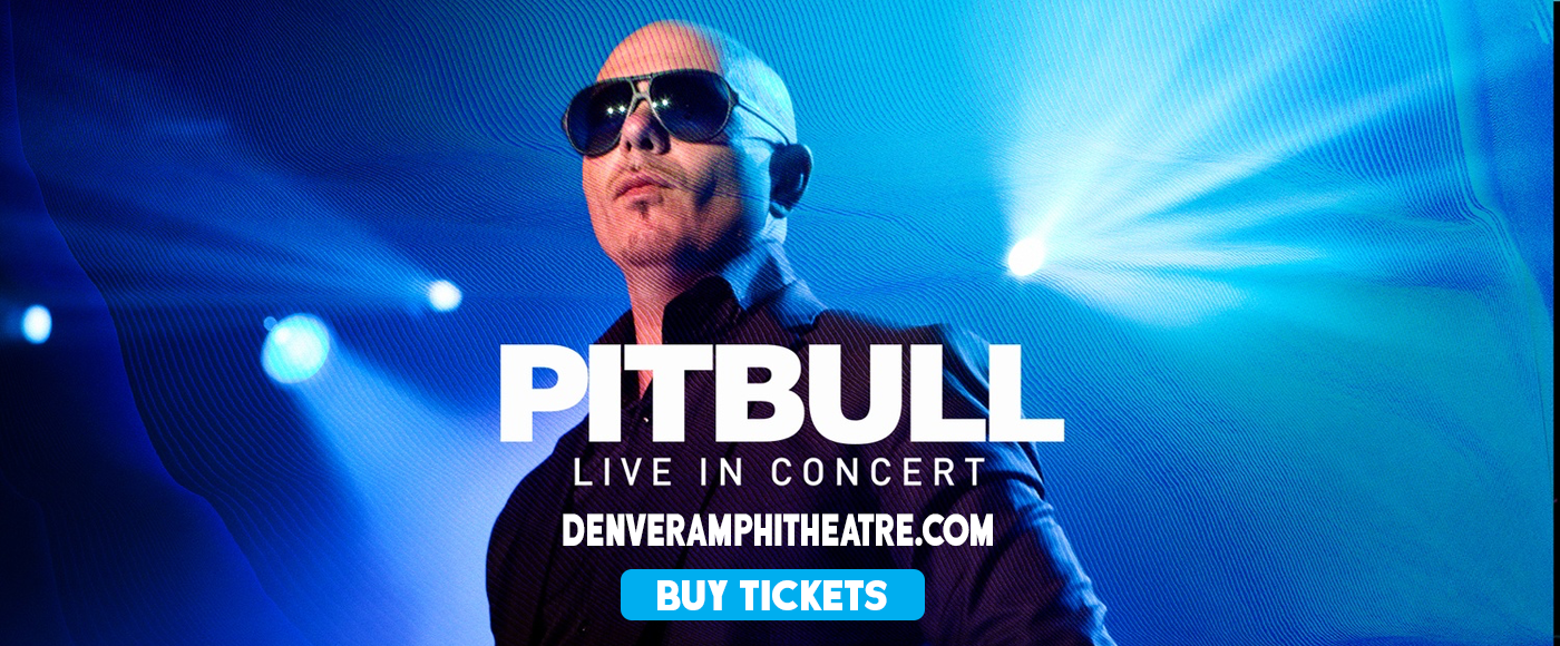 Pitbull at Fiddlers Green Amphitheatre