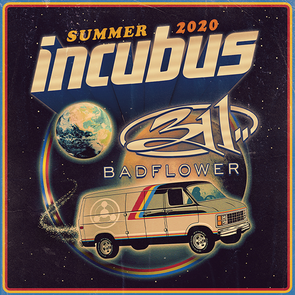 Incubus, 311 & Badflower at Fiddlers Green Amphitheatre