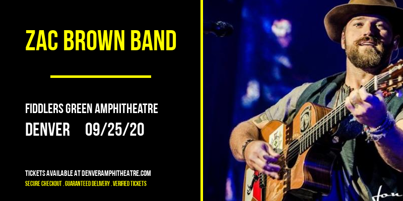 Zac Brown Band at Fiddlers Green Amphitheatre