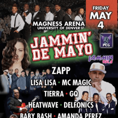 Jammin' De Mayo at Fiddlers Green Amphitheatre