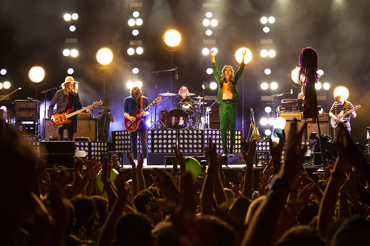 Cage The Elephant, Rise Against, Grandson & Half Alive at Fiddlers Green Amphitheatre